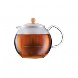"""Boite à thé dôme """"Wood""""..."""